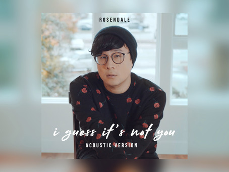 Rosendale - i guess it's not you (Acoustic Version)