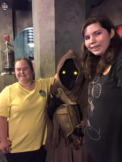 WDW Star Wars Exhibit Christy-Tracie