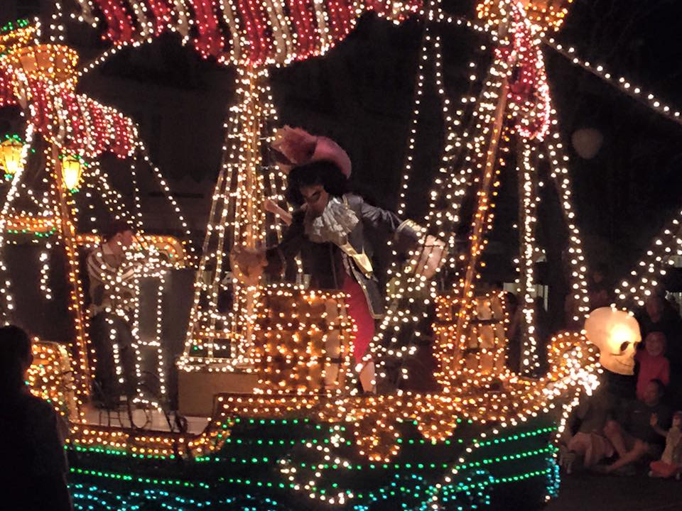 WDW Night Parade Peter Pan