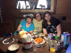 WDW Cabin Buffet Breakfast
