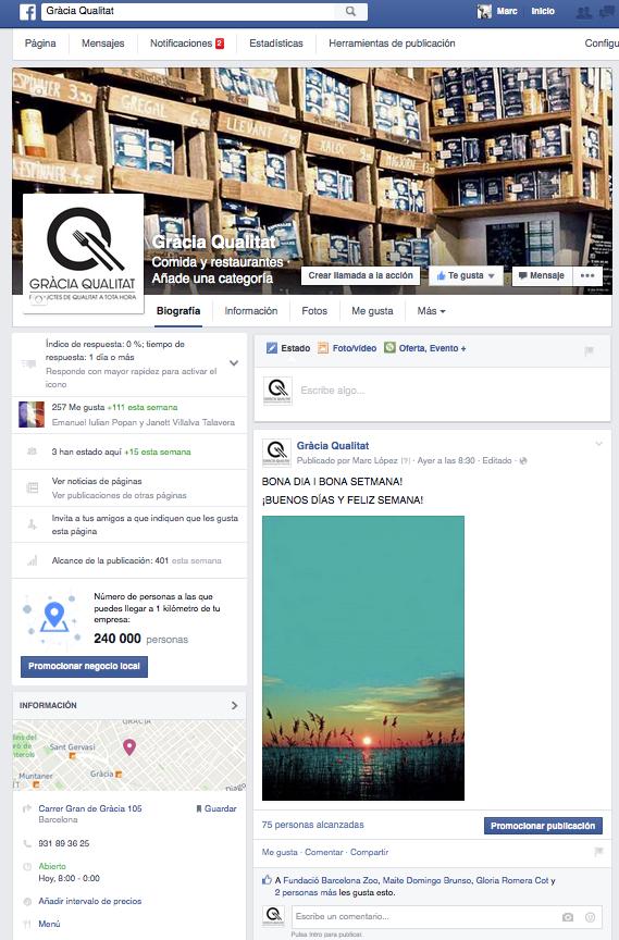 GRÀCIA QUALITAT - FB