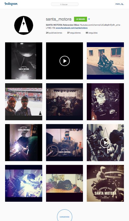 SANTA MOTORA - Instagram
