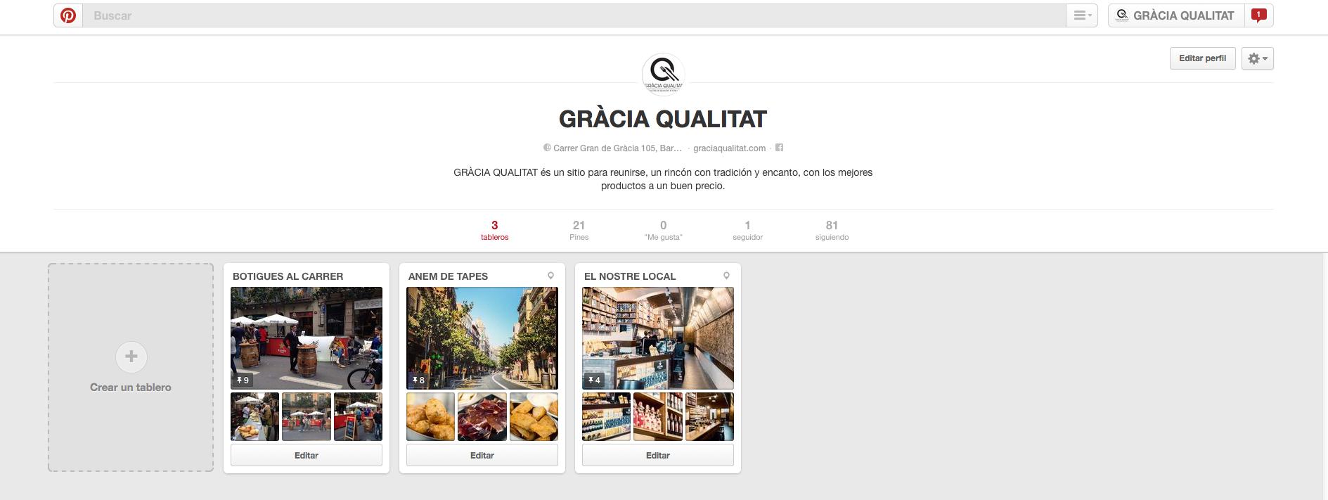 GRÀCIA QUALITAT - Pinterest
