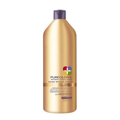 Pureology Nano Works Gold Shampoo 33.8oz