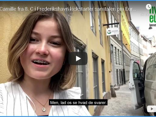 Hej! Jeg hedder Camille og går i 8.c i Frederikshavn