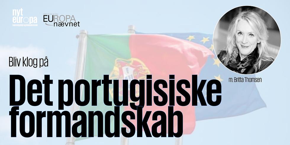 Bliv klog på det portugisiske formandskab med Britta Thomsen