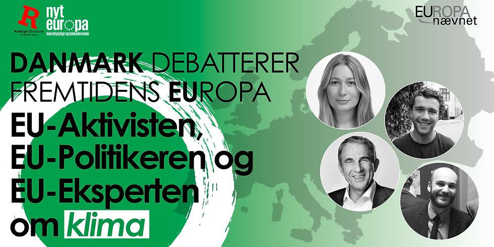 Danmark debatterer Europas fremtid - Ryslinge Efterskole