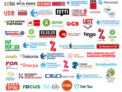 civil society organisations and trade unions call for urgent corporate tax transparency plan rethink