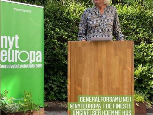 Beretning v/Lone Loklindt, formand NYT EUROPAS GENERALFORSAMLING 2021