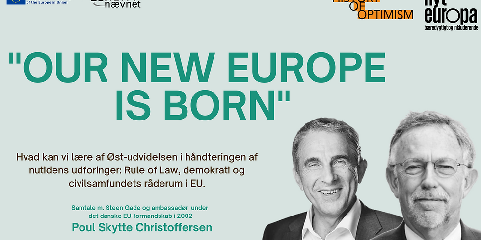 OUR NEW EUROPE IS BORN