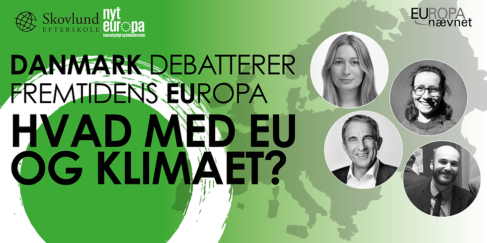Danmark debatterer Europas fremtid - Skovlund Efterskole