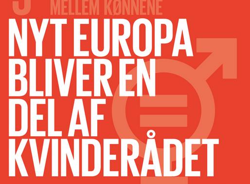 Nyt Europa bliver medlem af Kvinderådet