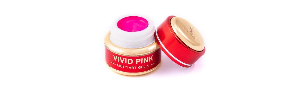 MultiArt Gel Vivid Pink 5g