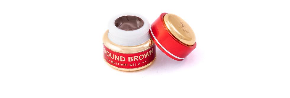 MultiArt Gel Ground Brown 5g