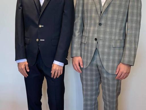 同級生のお客様~成人式用にオーダースーツ