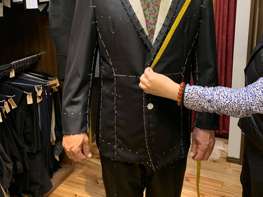 2回目の仮縫い