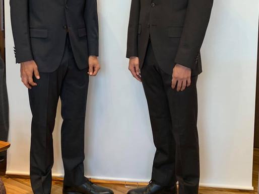 双子の兄弟のお客様~成人式用にオーダースーツ