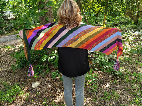 Long scarf...colors galore!