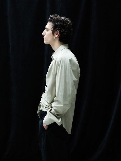 Tamino Amir x Vogue Italia