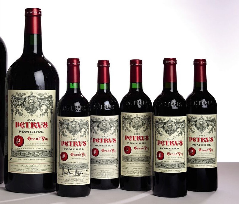 Credit Sotheby's - Petrus Wine Collection