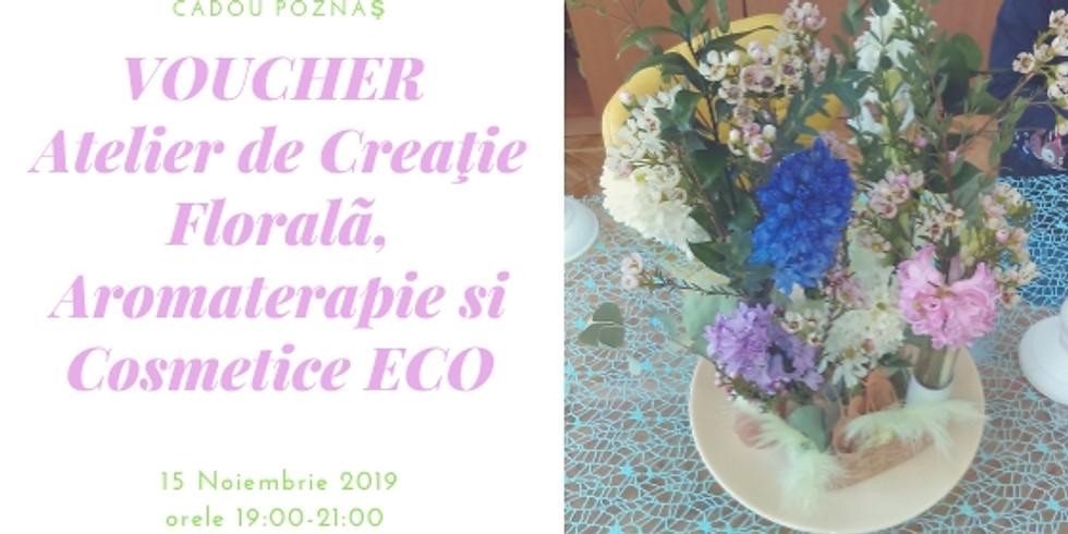 Afla povestea floristei si scriitoarei Florentina Ramona Fugaciu