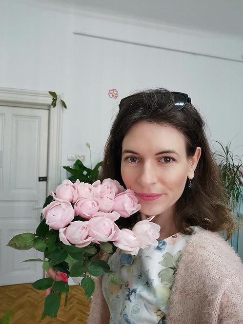 Trandafiri parfumati Peony Pink