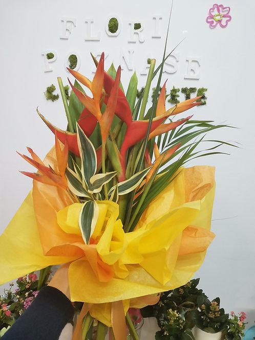 Buchet exotic cu Heliconia
