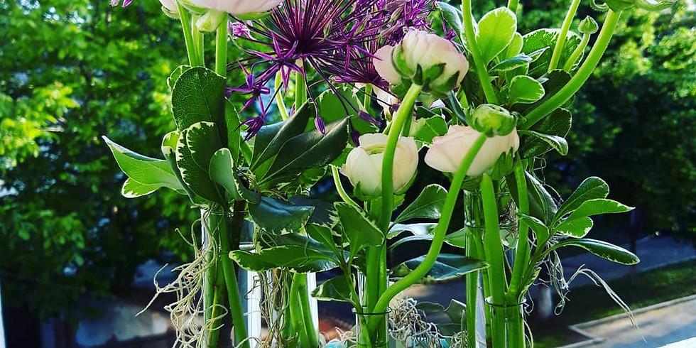 Workshop de design floral modern