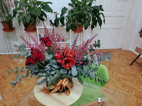 Aranjament floral de iarna