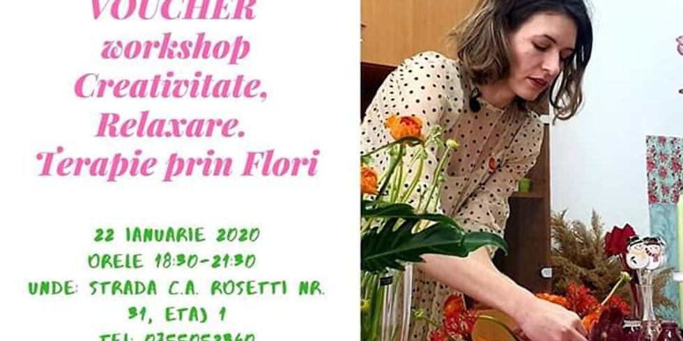 Workshop Creativitate, Relaxare, Terapie prin flori