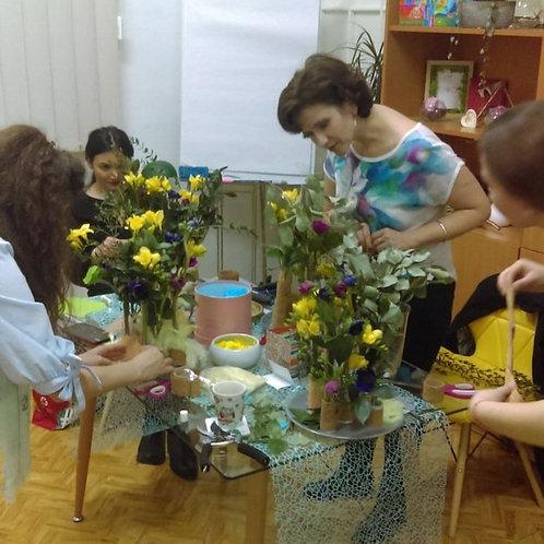 Atelier de Relaxare cu Flori Poznase