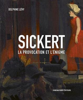 Livre Sickert La provocation de Delphine Lévy
