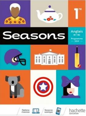 Hachette Education Seasons 1ere