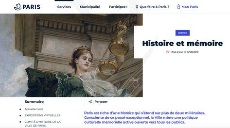 Site de la Maire de Paris
