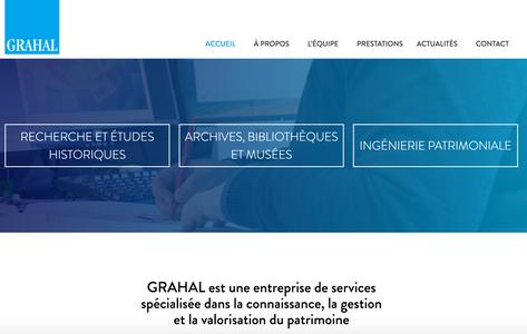 Site internet de Grahal