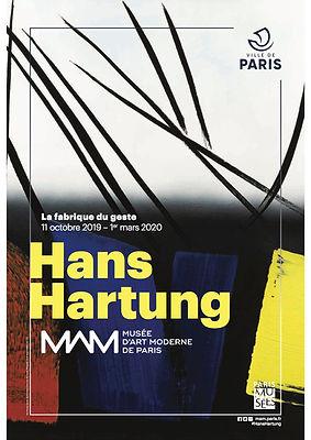 Hans Hartung Musée d'art moderne de Paris