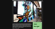 Street art: Le climat au pied du mur