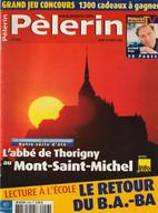 Pélerin - L'abbé de Thorigny au Mont-Saint-Michel