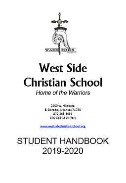 2019-20 Cover Image for Student Handbook