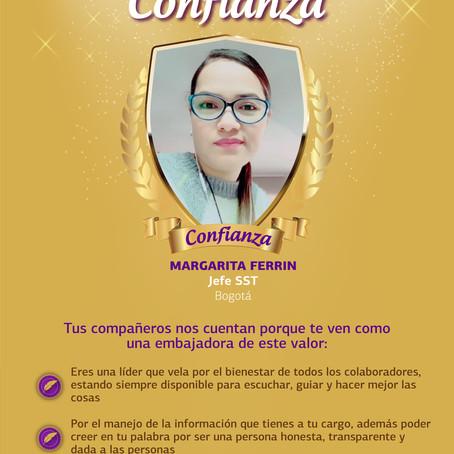 Nuestra Casa reconoce a la primera embajadora de Confianza, ¡conócela!