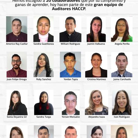 ¡Te presentamos a nuestro equipo de auditores internos!