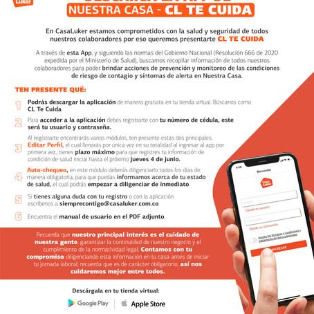 ¡Descarga nuestra App - CL Te Cuida!