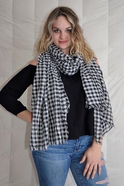 Checkered Fashion scarf