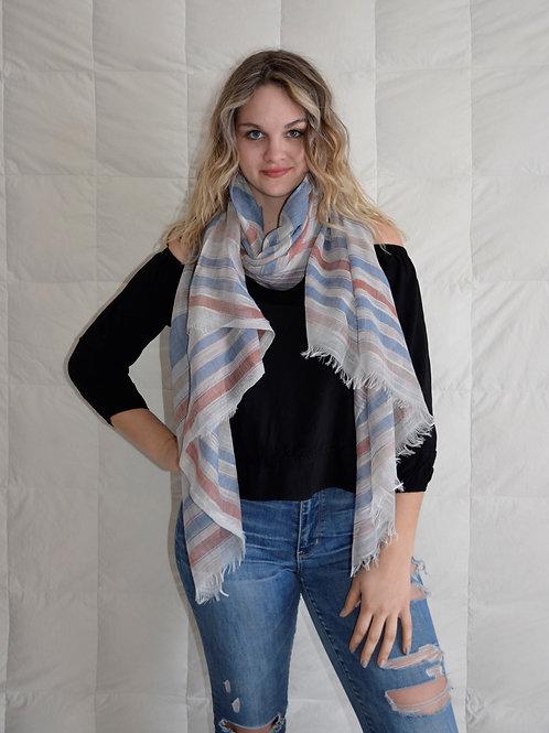 Stripey Fashion scarf