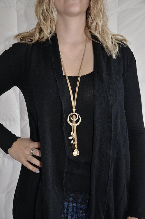 Multi Strand long necklace