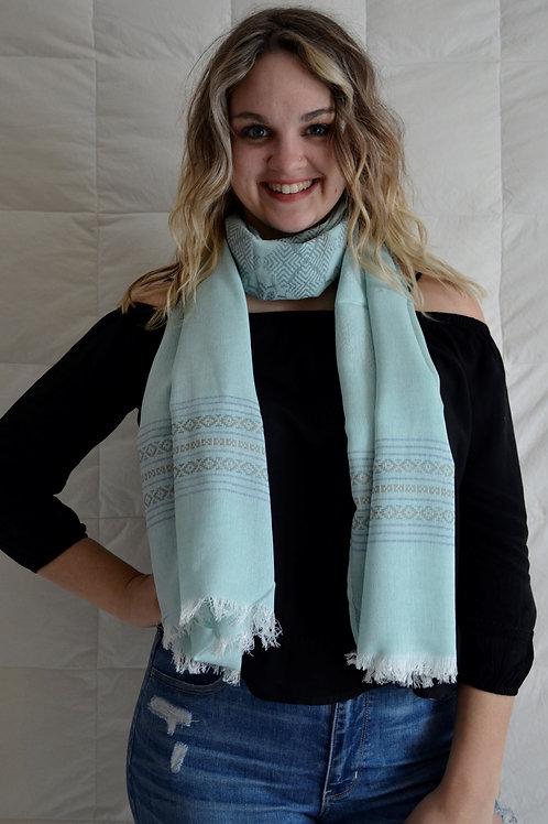Pastel light Fashion scarf
