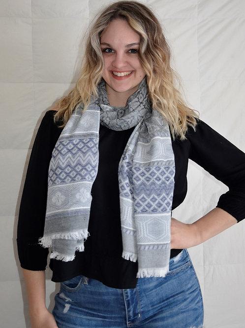Fun patterned Fashion scarf