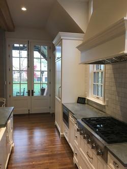 Kitchen looking towards Porch