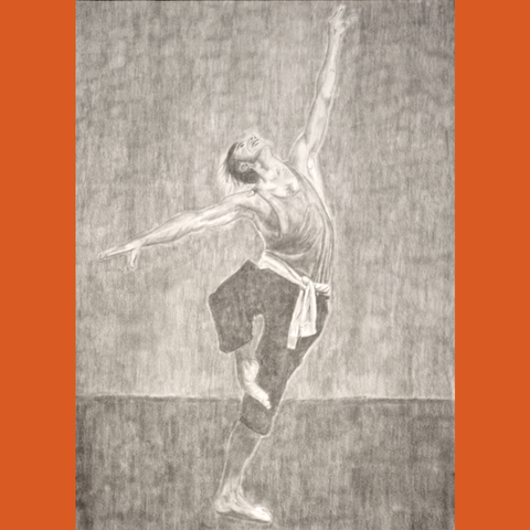 Danse II | Mine de Plomb