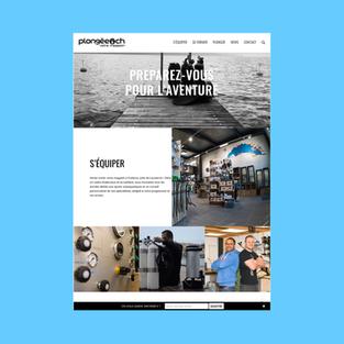 plongée.ch | website